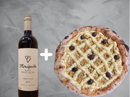 Combo Pizza e Vinho Tinto