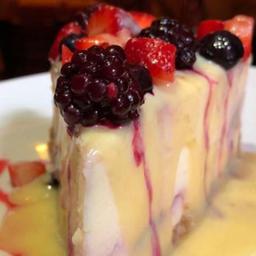Cheesecake de Frutas Vermelhas à Jade Picon