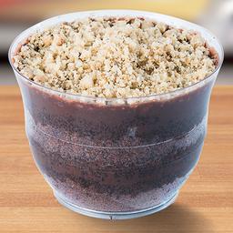 Bolo de Pote Chocolate com Nozes