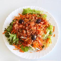 Salada com Carne do Sol
