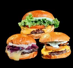 2x Burger 120g e 1 Batata Grátis