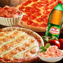 Combo 2 Pizzas + Refri