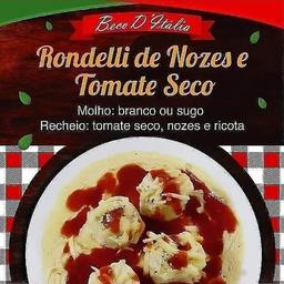 Rondelli de Tomate Seco com Nozes