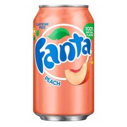 Fanta Peach Pêssego 350ml