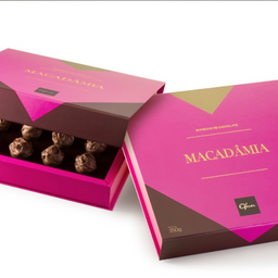 Caixa de bombom - Macadâmia