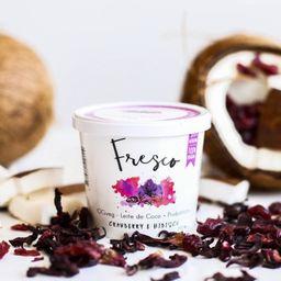 Iogurte de Coco Fresco - Cranberry e Hib