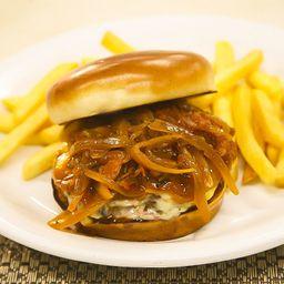 Hambúrguer de Picanha Grelhado