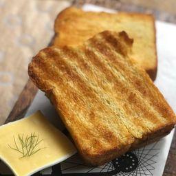 Brioche com Manteiga - 2 Fatias