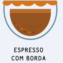 Espresso com Borda de Nutella 45ml