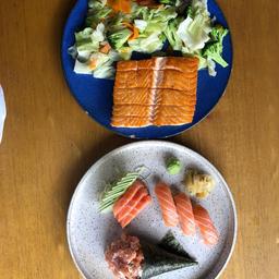 Combo  exc de salmão