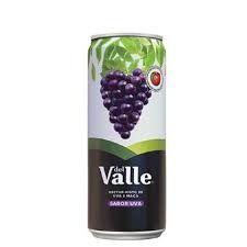 Suco de uva lata