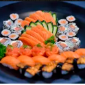 Especial Mix de Sashimi e Sushi - 80 Peças