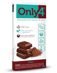Chocolate Only 4 Puro - 80g