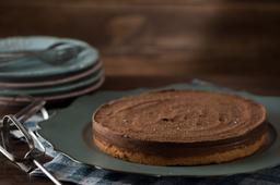 Torta Caramelo e Flor de Sal - Fatia