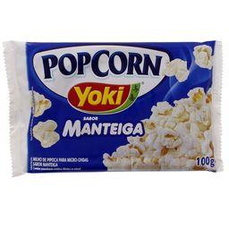 Pipoca Microondas Yoki Manteiga
