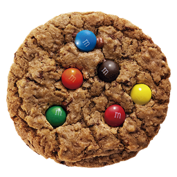 Cookie Chocolate Chips com M&M's