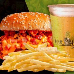 Combo Burger, Batata e Chope