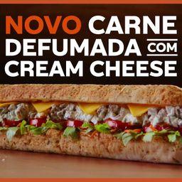Carne Defumada com Cream Cheese 15cm