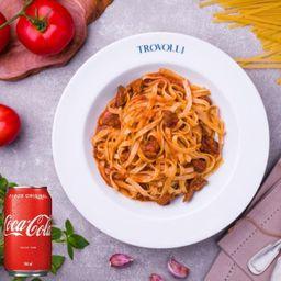 Molho Bolognese + Coca Cola