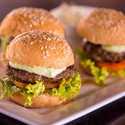 Trio de Mini Burgers