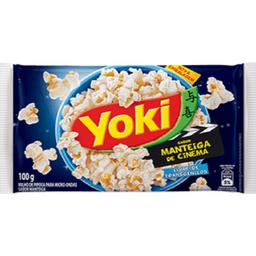 Pipoca Manteiga de Cinema Yoki 100g