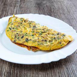 Omelete de Shimeji