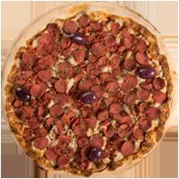 Pizza Calabra Muçaveggie