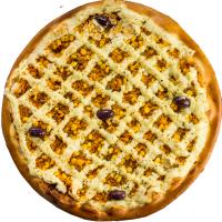 Pizza Caipira (c/ catupiry)