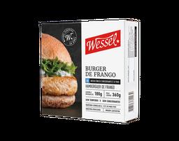 Burger de Frango Wessel 360 g (2 unidades)
