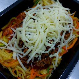 Mix de Espaguetes à Bolonhesa