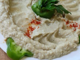 Pasta de Beringela Defumada (Mtabal) Vegana