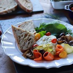 Salada Caprese com Burrata