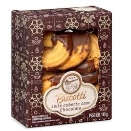 Biscotti Leite Coberto Chocolate - 140g
