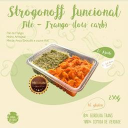 Strogonoff Funcional de Frango (Low Carb)