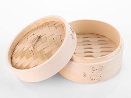 Vaporeira de Bambu - 20Cm