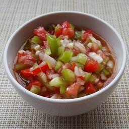 Molho de Cebola Roxa, Tomate e Ervas