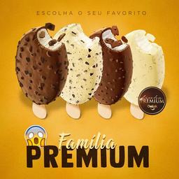 5 Picolés Premium