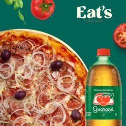 Pizza Grande + Guaraná e Entrega Grátis