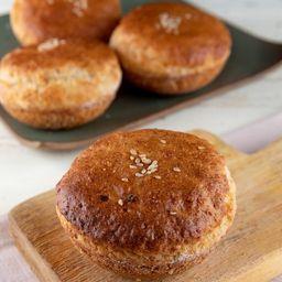 Pão Almofadinha com Leite de Castanha