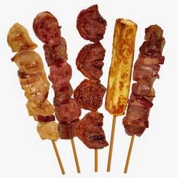 Espetinho de Linguiça c/ Bacon