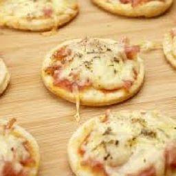 Mini Pizza de Muçarela