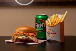 Cheddar Bacon Rib - Acompanhamento e um Refrigerante - 350ml