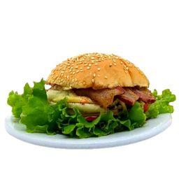 X Salada Bacon com Fritas