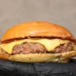 Smash burguer pão carne e queijo