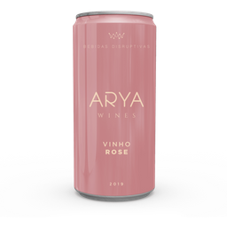 Vinho Lata Arya Rosé 269ml