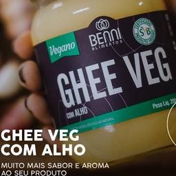 Ghee Vegana com Alho - 200g