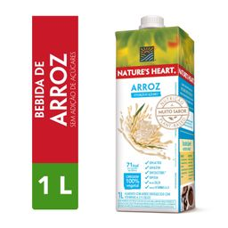 Bebida Vegetal Natures Heart Arroz 1l