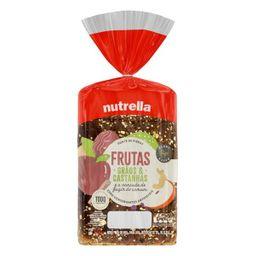 Pão de Forma Nutrella Supreme Frutas - 550g