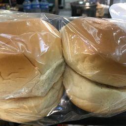 Pão de hamburguer da casa(c/4un)