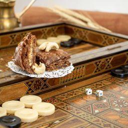 Folhado sírio de chocolate